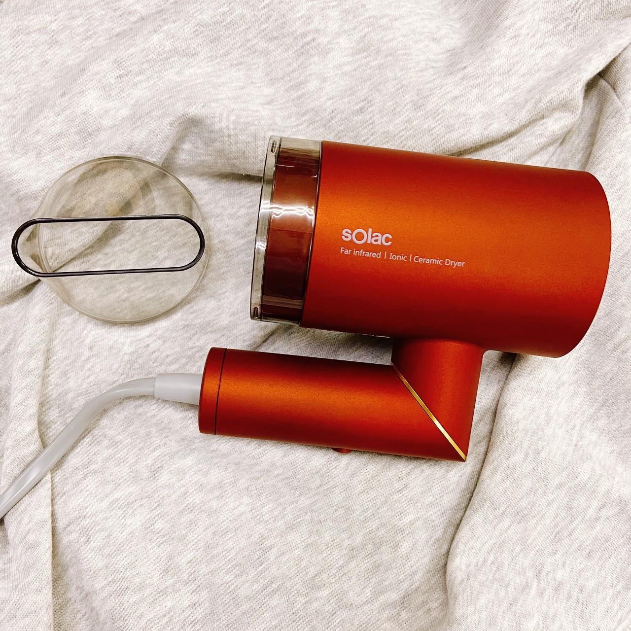 Solac 負離子生物陶瓷吹風機