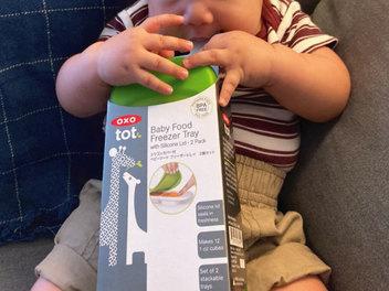 【OXO TOT】 好滋味快取冰格,小浩克的第一口副食品