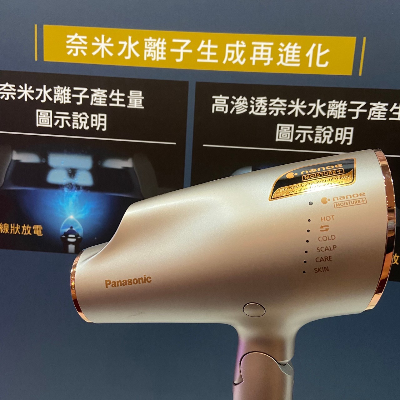 Panasonic 國際 奈米水離子吹風機 EH-NA0E 高滲透超進化