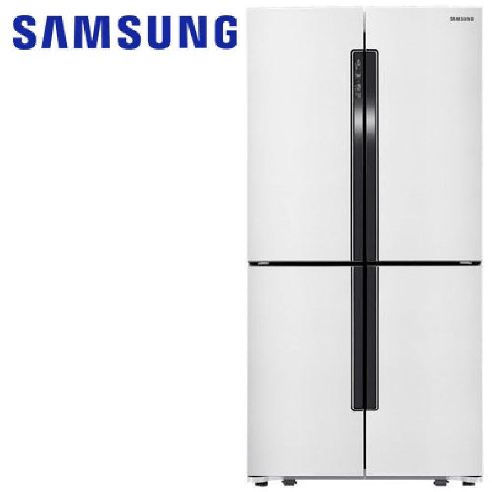 Samsung 三星 RF905VELAWZ/TW 901L三循環多門旗艦系列四門冰箱(簡約時尚白)