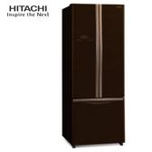 HITACHI 日立 RG430GBW 冰箱 421L 琉璃棕 雙獨立風扇冷卻 奈米鈦抗菌除臭