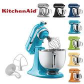 【熱銷萬台】KitchenAid 3KSM150PS 桌上型攪拌機 送丹麥BODUM濾壓壺+刀剪組