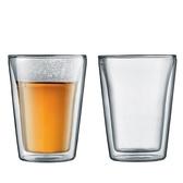 Bodum CANTEEN雙層玻璃杯100CC-2入