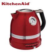 KitchenAid 溫控智慧電熱水壺 蜜蘋紅 來自美國的百年品牌