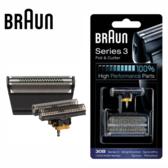 德國百靈 Braun 30B 刀頭刀網組 (黑)