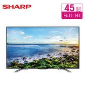 SHARP 夏普 LC-45LE580T  40吋FHD  LED液晶電視