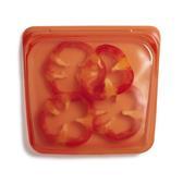 美國 Stasher 方形矽膠密封袋 柑橙橘