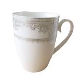 【超取+自取】古典骨瓷咖啡杯 精緻紋路、凹凸觸感 6入一組