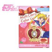 Sailor Moon 美少女戰士 第六代變身杖護唇膏 螺旋愛心神杖保濕唇膏-玫瑰紅