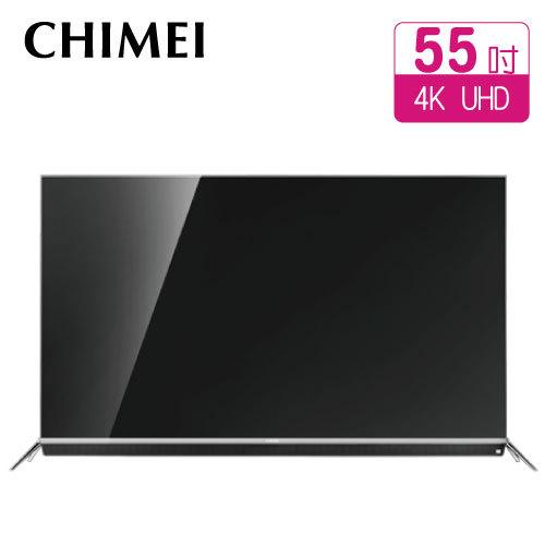 CHIMEI 奇美 55型 TL-55W760 4K超高畫質液晶顯示器(含視訊盒TB-W020)