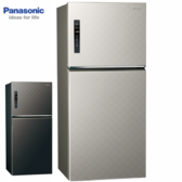 Panasonic 國際牌 NR-B659TV-S/K 650公升 雙門變頻無邊框冰箱