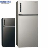 Panasonic國際牌NR-B589TV-S/K 579公升雙門變頻無邊框冰箱