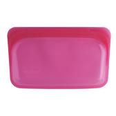 美國 Stasher 長形矽膠密封袋 (野莓紅)