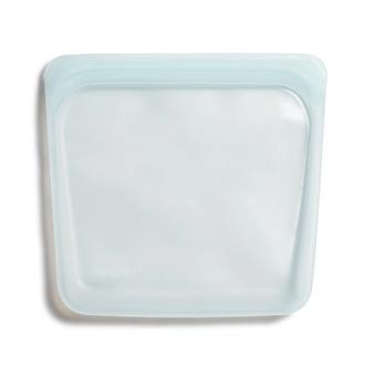 美國 Stasher 方形矽膠密封袋 泡泡藍