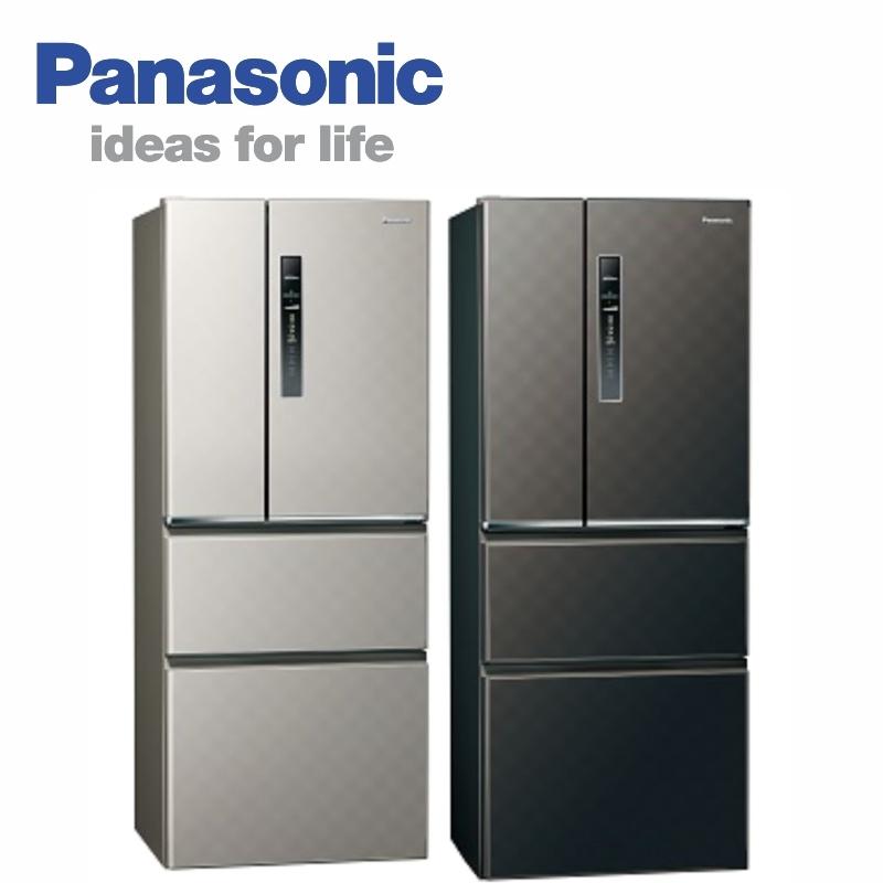Panasonic 國際牌 NR-D509HV-S/K500L國際牌四門變頻無邊框冰箱