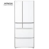 HITACHI 日立 RG620HJXW 冰箱 621L 琉璃白 霜能再利用 抗菌除臭