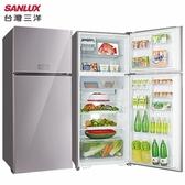 SANLUX 台灣三洋 SR-C480BVG 冰箱 480L 自動循環脫臭 冰溫保鮮室 雙門