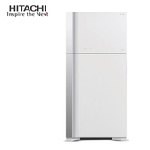 HITACHI 日立 RG599GPW 冰箱 570L 琉璃白 雙獨立風扇冷卻 奈米鈦抗菌除臭
