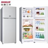 SANLUX 台灣三洋 SR-C310B1 冰箱 310L 多層冷流出風口 蔬果保鮮室