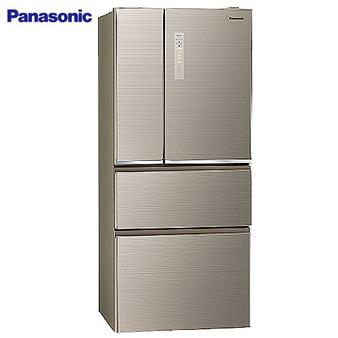 Panasonic 國際 NR-D610NHGS-N 冰箱 610L 四門 翡翠金 變頻