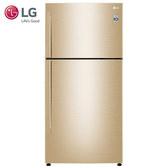 LG 樂金 GN-BL497GV 冰箱 494L 光燦金 直驅變頻上下門