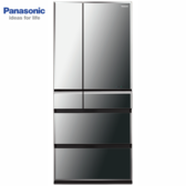 Panasonic 國際牌NR-F672WX-X1變頻六門冰箱(鑽石黑)665公升