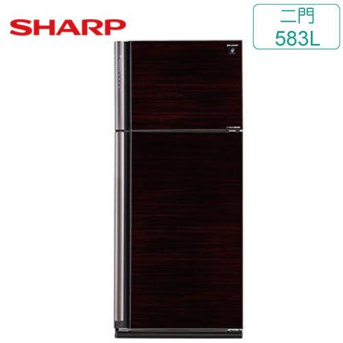 SHARP 夏普 SJ-PD58V-BK 583L 二門 變頻電冰箱