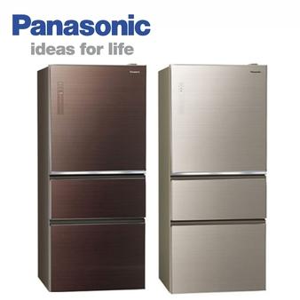 Panasonic 國際 NR-C619NHGS 610公升三門變頻無邊框玻璃冰箱