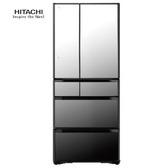 HITACHI 日立 RG620HJX 冰箱 621L 琉璃鏡 即鮮冷凍冷藏 霜能再利用 抗菌除臭