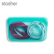 美國 Stasher 長形矽膠密封袋 (湖水藍)