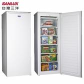 SANLUX 台灣三洋 SCR-170A  直立式冷凍櫃 170公升
