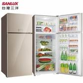 SANLUX 台灣三洋 SR-C533BVG 冰箱 533L 自動循環脫臭 冰溫保鮮室 急速強冷