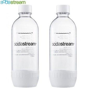 Sodastream 寶特瓶 氣泡水機耗材/配件 1L 2入 採用BPA-free材質 防漏水