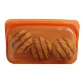 美國 Stasher 長形矽膠密封袋 (柑橙橘)