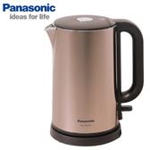 Panasonic 國際 NC-HKD122 電熱水壺 食品級304不鏽鋼 雙重隔熱設計