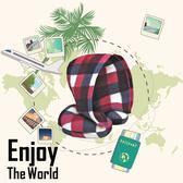 【春季整點特賣】限時優惠!旅行夥伴 極致質感全罩式頸枕-台灣製