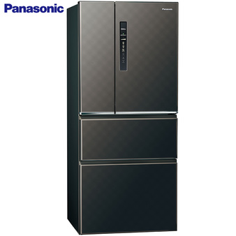 Panasonic 國際 NR-D610HV-K 冰箱 四門 610L 星空黑 新1級能源效率