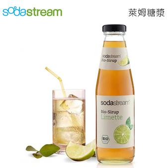 Sodastream 糖漿 氣泡水機耗材/配件 500ml 有機萊姆/接骨木花糖漿