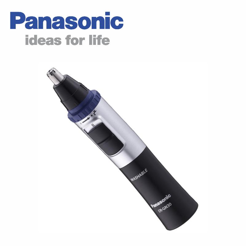 Panasonic 國際 ER-GN30-K 男仕修容刀 可水洗式電動鼻毛刀