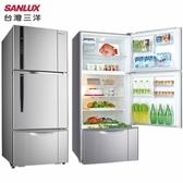 SANLUX 台灣三洋 SR-C580CV1 冰箱 580L 自動循環脫臭 冰溫保鮮室 急速強冷完售
