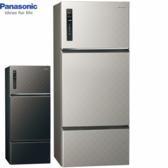 Panasonic 國際牌 NR-C489TV-S/K 481公升三門變頻無邊框冰箱