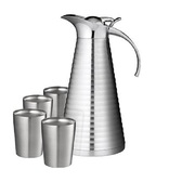 Tiamo 不銹鋼真空壺杯組 (1壺+4入杯)