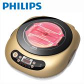 PHILIPS 飛利浦 HD4990 不挑鍋黑晶爐 金 【買就送調味罐四件】