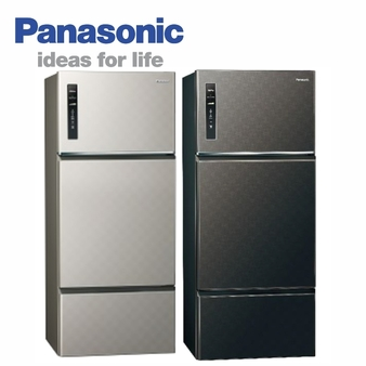 Panasonic 國際 NR-C489TV 481公升三門變頻無邊框冰箱