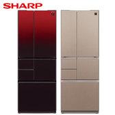 SHARP 夏普 SJ-GT50BT 501L六門極鮮大冷凍庫冰箱 日本製造(2色可選)