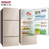 SANLUX 台灣三洋 SR-C580CVG 冰箱 580L 自動循環脫臭 冰溫保鮮室 完售