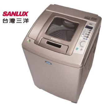 SANLUX 台灣三洋 SW-17DUA 洗衣機 17kg 6道立體噴射水流 ECO節能感應功能