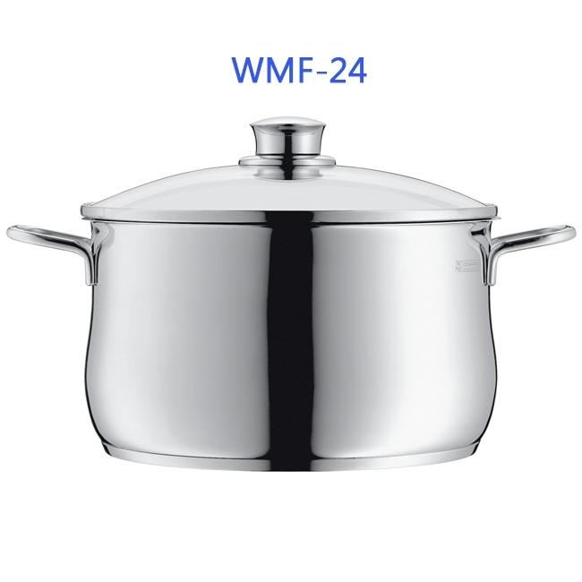 WMF 24CM不鏽鋼湯鍋