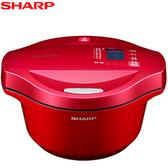 SHARP 夏普 KN-H24TB 0水鍋2.4L超大容量 7種美味行程
