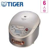 TIGER虎牌 JKW-A10R  6人份  微電腦電子鍋